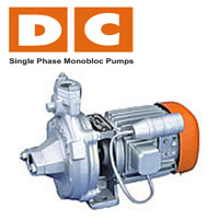 DC Single Phase Monobloc Pumps